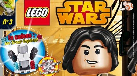 [Panini] Le magazine Lego Star Wars 3 est sorti