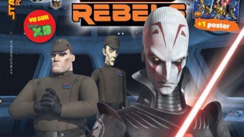 [Panini] Les magazines Star Wars Lego 4 et Star Wars Rebels 6 sont sortis