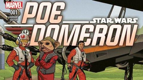 Preview pour le comic sur Poe Dameron