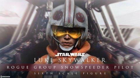 Sideshow Collectibles: Luke Skywalker Snowspeeder