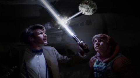 POISSON D'AVRIL easter egg de Doctor Who dans 'Le Réveil de la Force'