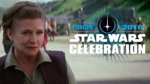 Celebration Europe : Carrie Fisher sera de la partie !
