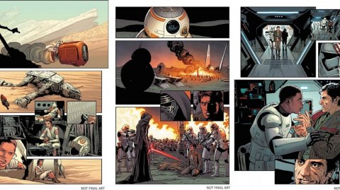 Premier aperçu du comics Star Wars: Le Réveil de la Force