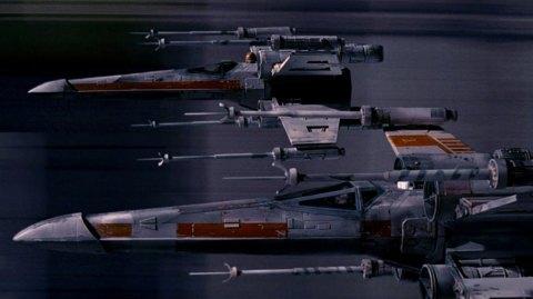 Des écrans à 360° utilisés pour des séquences de X-Wing dans Rogue One