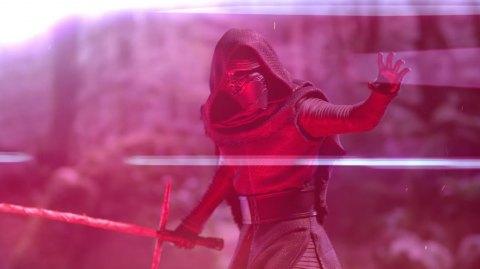 Un trailer pour la statuette Sideshow de Kylo Ren