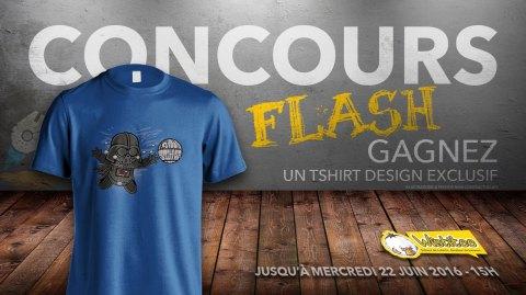 CONCOURS FLASH - Gagnez un t-shirt exclusif avec Wistitee