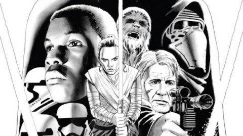 Les variantes de couverture du Comics Marvel Le Réveil de la Force
