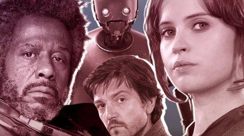 Les noms et détails sur les personnages de Rogue One