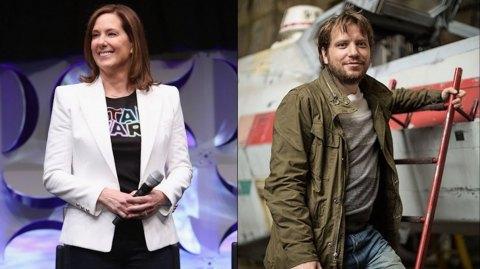 Gareth Edwards et Kathleen Kennedy parlent des reshoots de Rogue One