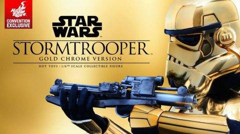 Sideshow : un stormtrooper 1/6ème version Gold