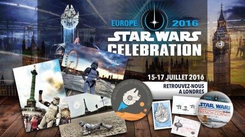 Au programme sur le stand Planète Star Wars à Celebration