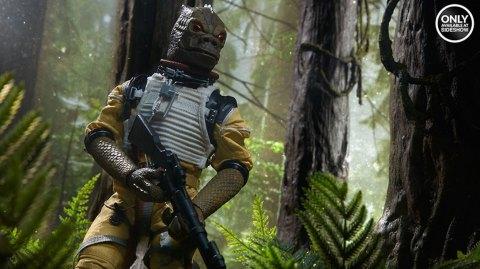 Sideshow présente sa figurine du chasseur de primes Bossk