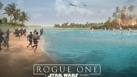 Une affiche pour Rogue One