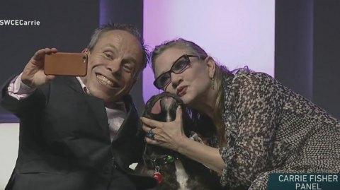 Star Wars Celebration  : le panel avec Carrie Fisher ... et son chien