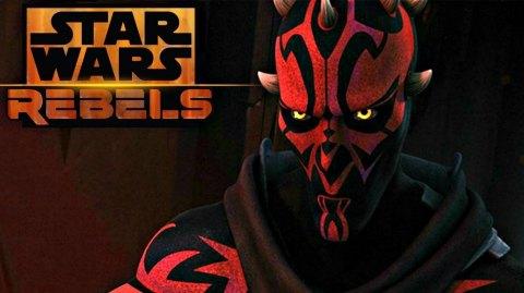 Star Wars Rebels : Darth Maul sauvé de justesse !