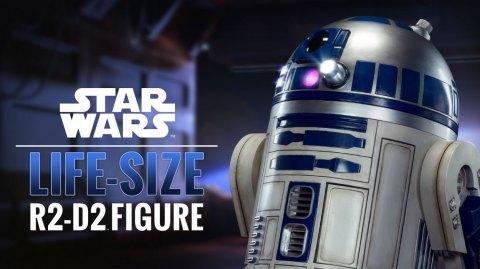 Sideshow sort un R2-D2 taille réelle !