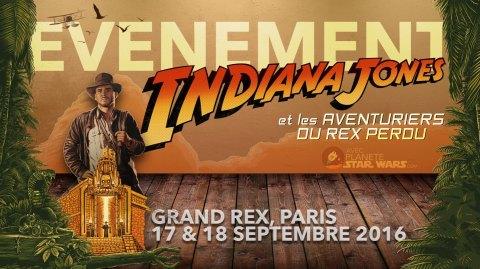 Evénement ce week-end : Indiana Jones débarque au Grand Rex !