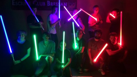 Pratiquez le combat au sabre laser à Lyon