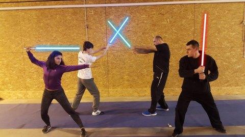 Cours de Sabre Laser pour la 1ère fois dans le Var !