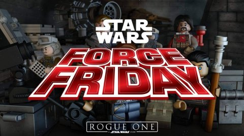 Force Friday Rogue One : triplez vos points Lego !