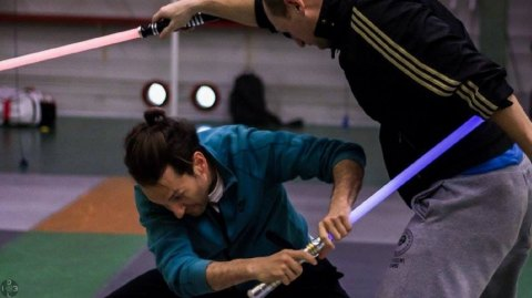 Du combat chorégraphique au sabre laser à Bordeaux !