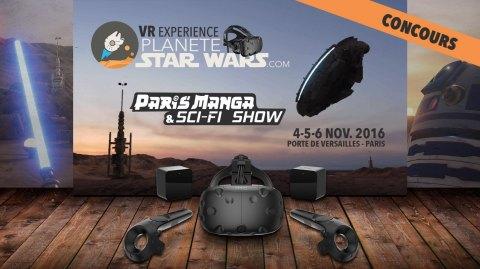 Planète Star Wars VR Experience - Immergez-vous à Paris Manga !