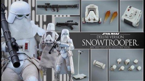 Hot Toys: Un Snowtrooper Version Deluxe vu dans Battlefront