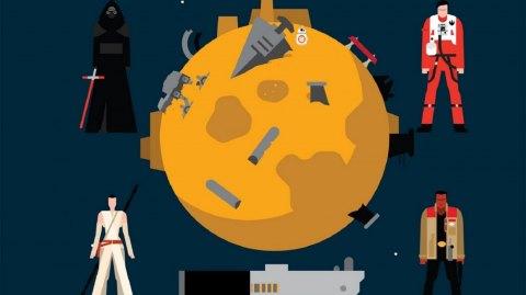 Review : Le Réveil de la Force : Graphics