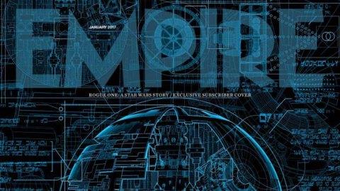 Les plans de l'Etoile Noire en couverture du magazine Empire