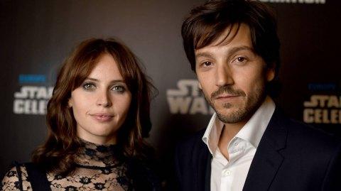 Interviews de Felicity Jones et Diego Luna