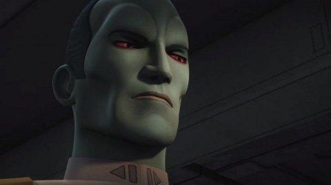 Thrawn impitoyable dans le prochain épisode de Rebels