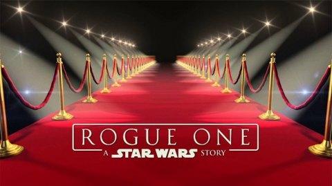 Le live stream de la 'Rogue One Red Carpet Premiere' aura lieu samedi