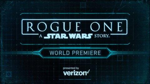 La World Premiere de Rogue One c'est ce soir!