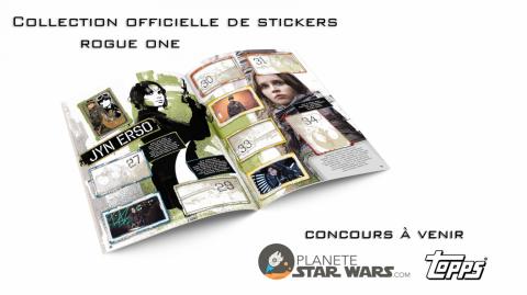 La collection de stickers Rogue One débarque en France!