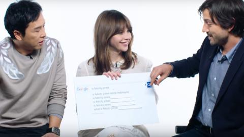 Des acteurs de Rogue One répondent aux demandes Google