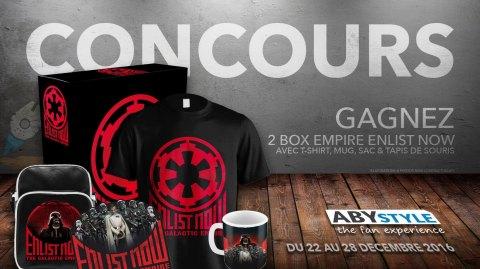 Concours : Gagnez des Box Empire Enlist Now avec ABYstyle !
