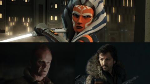 Ahsoka et le Service de Renseignement de la Rébellion dans Rogue One