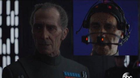 Un making of pour les recréations numériques de Tarkin et Leia