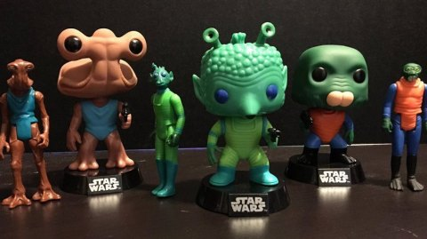 Un pack de Funko Pop inspiré des figurines Kenner