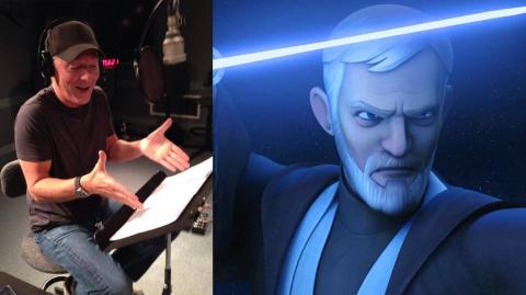 Stephen Stanton, la voix originale d'Obi-Wan dans Rebels
