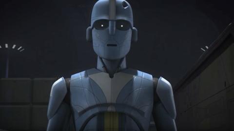 Un nouveau droïde impérial dans Rebels
