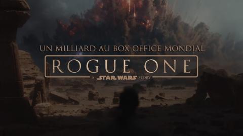 Rogue One dépasse le milliard de dollars au box office mondial