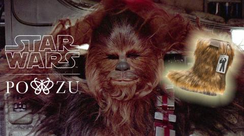 Promenez-vous comme un wookie avec les bottes Chewie !
