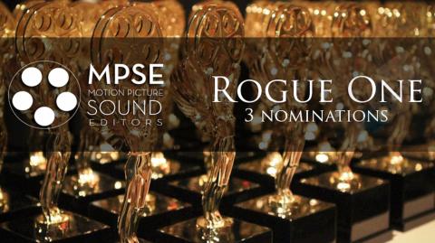 Rogue One une fois de plus nommé dans 3 catégories!