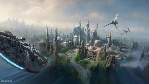 Star Wars Land ouvrira en 2019 à Disneyworld et Disneyland !
