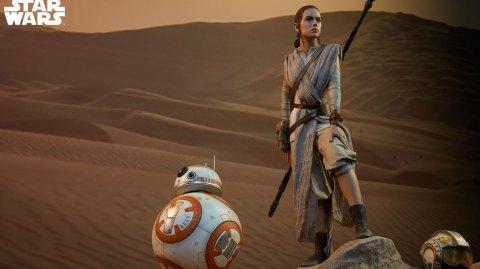 Sideshow : Rey et BB8 en format Premium