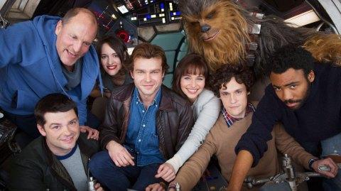 Première photo officielle pour le spin off de Han Solo !