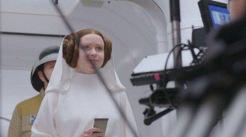 Des photos du tournage avec Leia et Vador dans Rogue One !