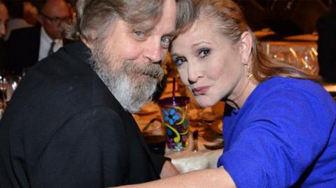 Mark Hamill et Carrie Fisher bientôt honorés Disney Legends !
