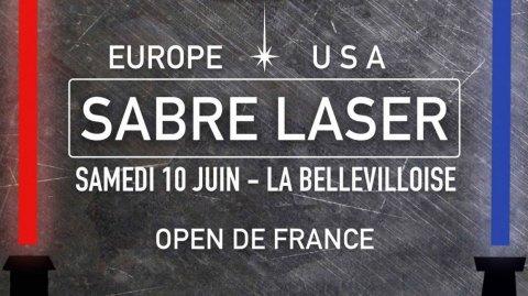 Du nouveau pour le French Open Sabre Laser